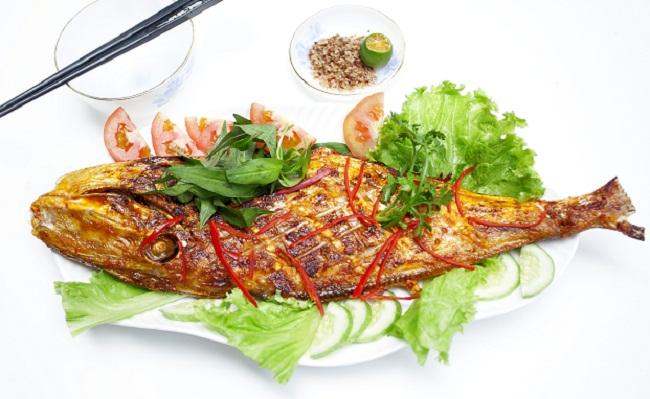 Thưởng thức cá bò nướng Nha Trang