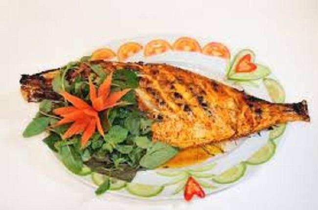 Cá bò nướng thơm ngon