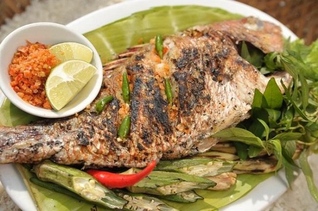Cá bò – cá bò nướng muối ớt